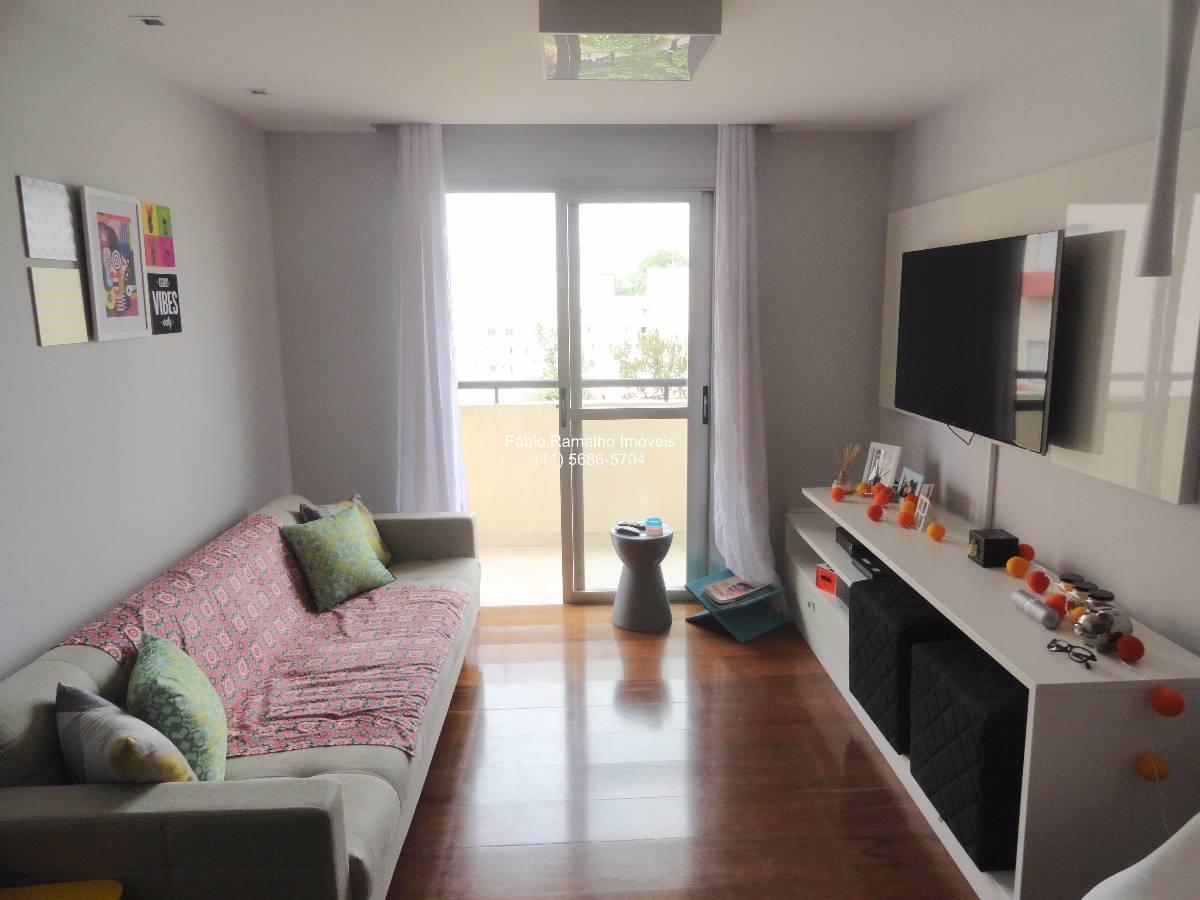 Apartamento no Edifício Cannes - Lazer Completo - Jardim Marajoara