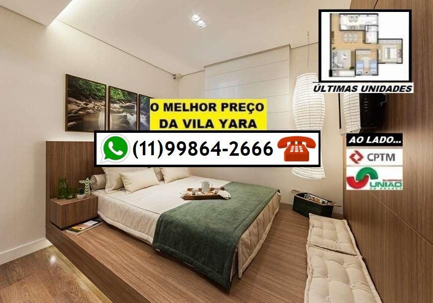 2 Dorms c/ varanda - Vila Yara por R$ 260.000,00 - AO LADO DA CPTM  E SHOPPING !