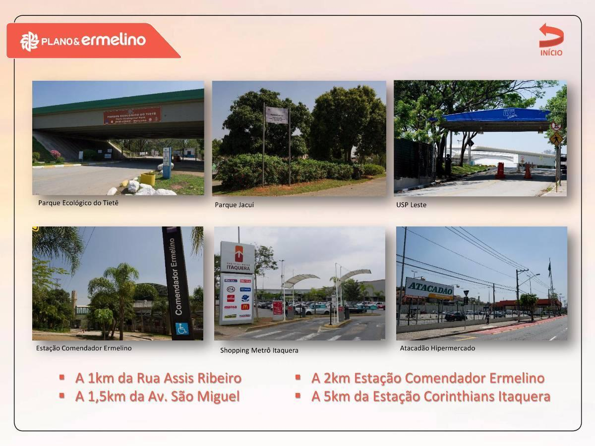 2 dmts-ERMELINO MATARAZZO 40M² E 41m²-c/vaga-MINHACMV-Cond.Fechado-$ 209.673,00