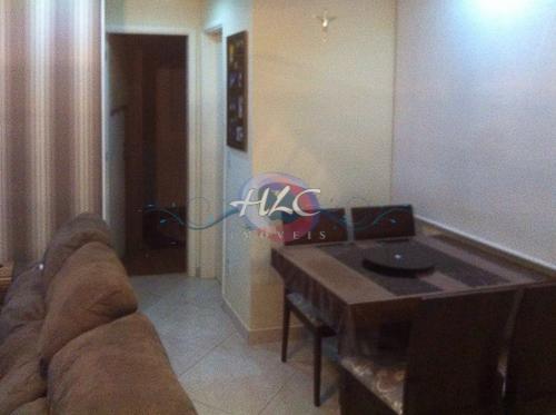 Lindo Apartamento no Resid. Orquídea 2 Dorms e Cozinha Planejada