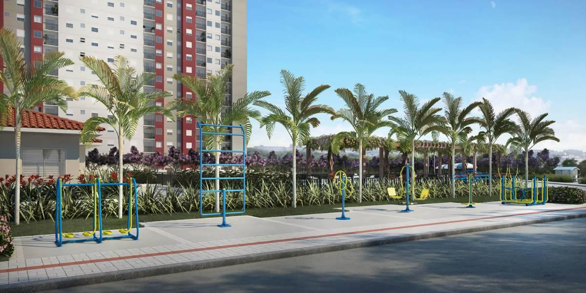Apartamentos FAOLIVA na planta Varzea paulista - PARAISO - FELICIDADE - 48M²