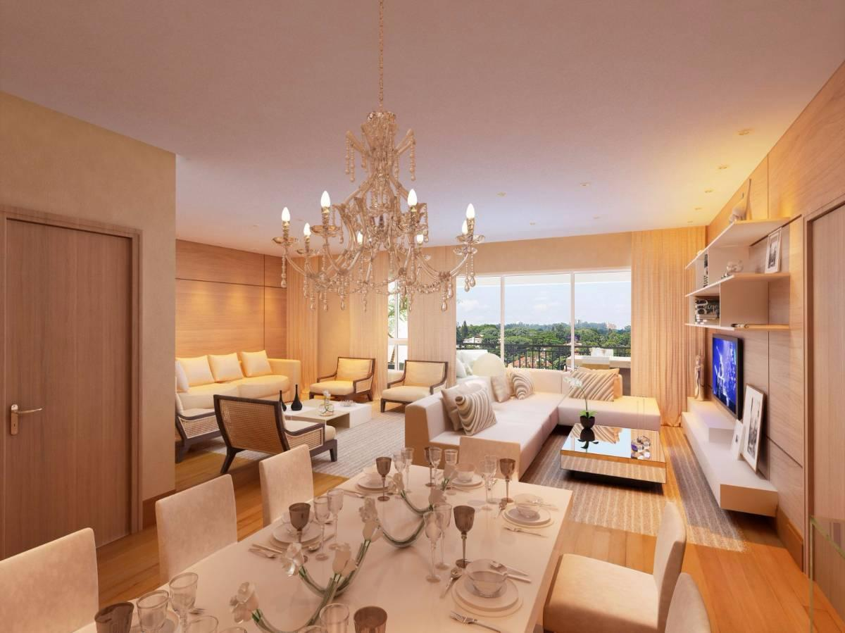 Apartamento com 126m², 4 dorms. e 2 vagas no Alto do Ipiranga/Mogi da Cruzes!