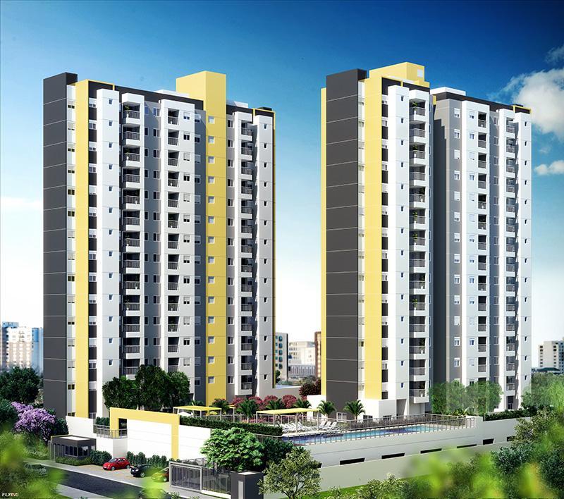 Apto novo 65 m² - SÓ R$316.300,00 - 1 suíte - 2 vagas cob. - Santa Maria - SA