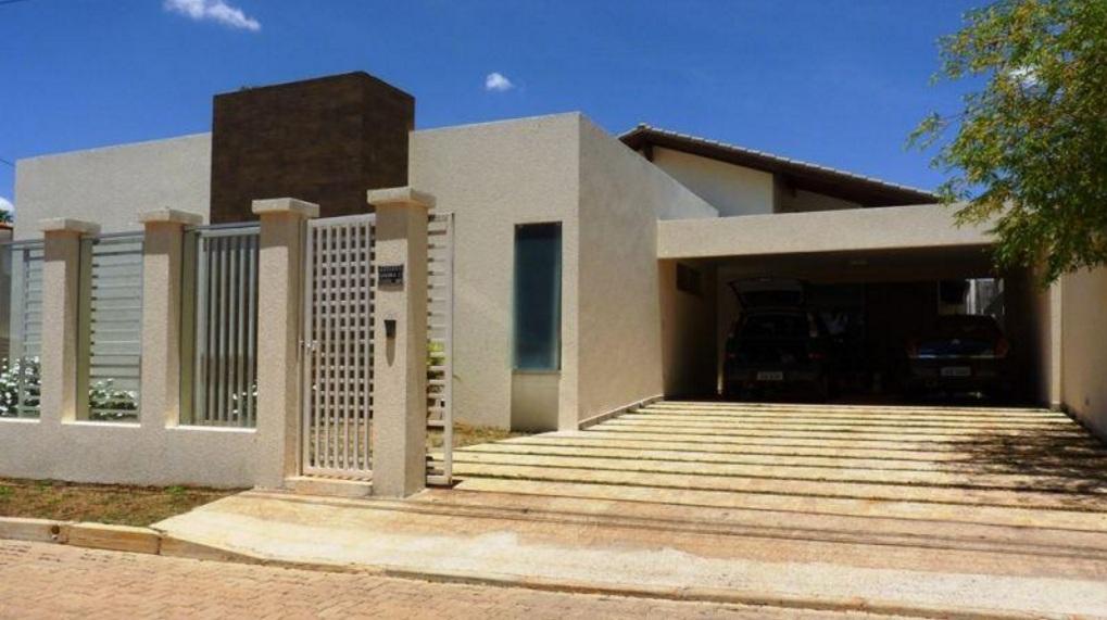 Casa RK Sobradinho 5 Quartos troco casa de(-) valor Moderna Churrasqueira Térrea