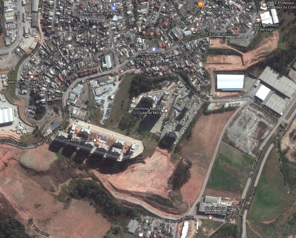 Terreno Locação - Centro Empresarial Itaquiti 2