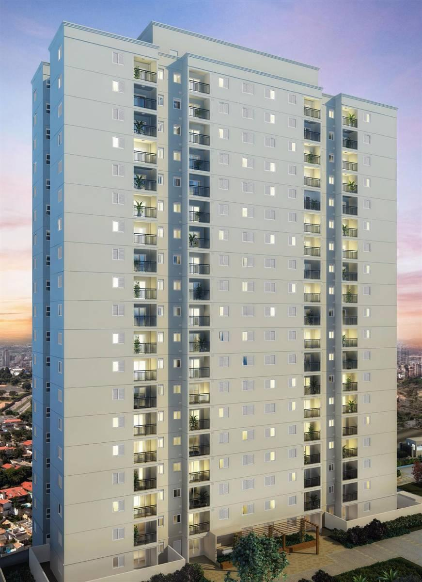 Apartamento Diadema 55M² 2Dorms Com Suite e Cond Clube