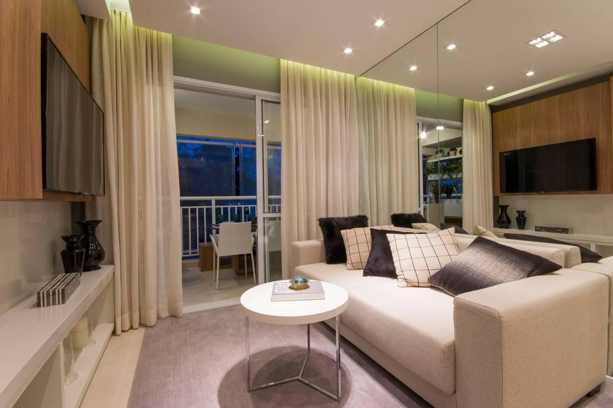 Apartamento de 96 m² no Morumbi com 3 dorms 1 suíte  2 vagas
