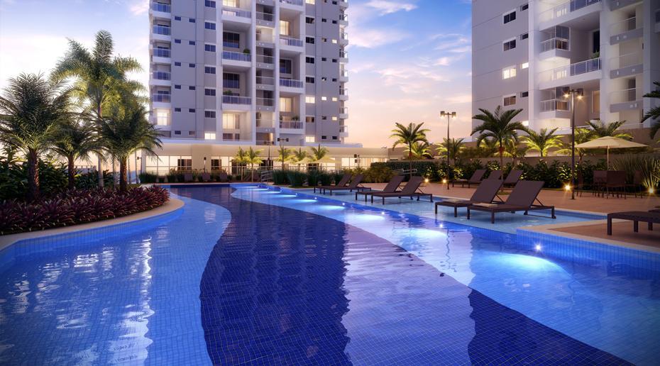 Apartamento de 139 m² no Panamby com 3 dorms 3 suítes 2 vagas