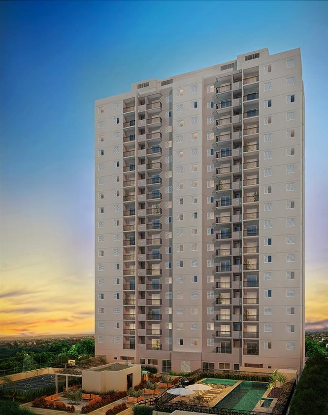 Apartamento de 51 m² no Morumbi com 2 dorms 1 vaga