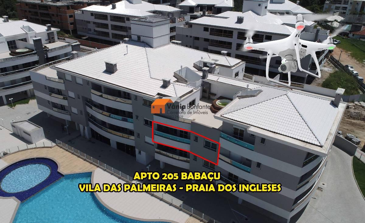 Apto no 1° bloco do Vila das Palmeiras entre o verde e o mar em Ingleses