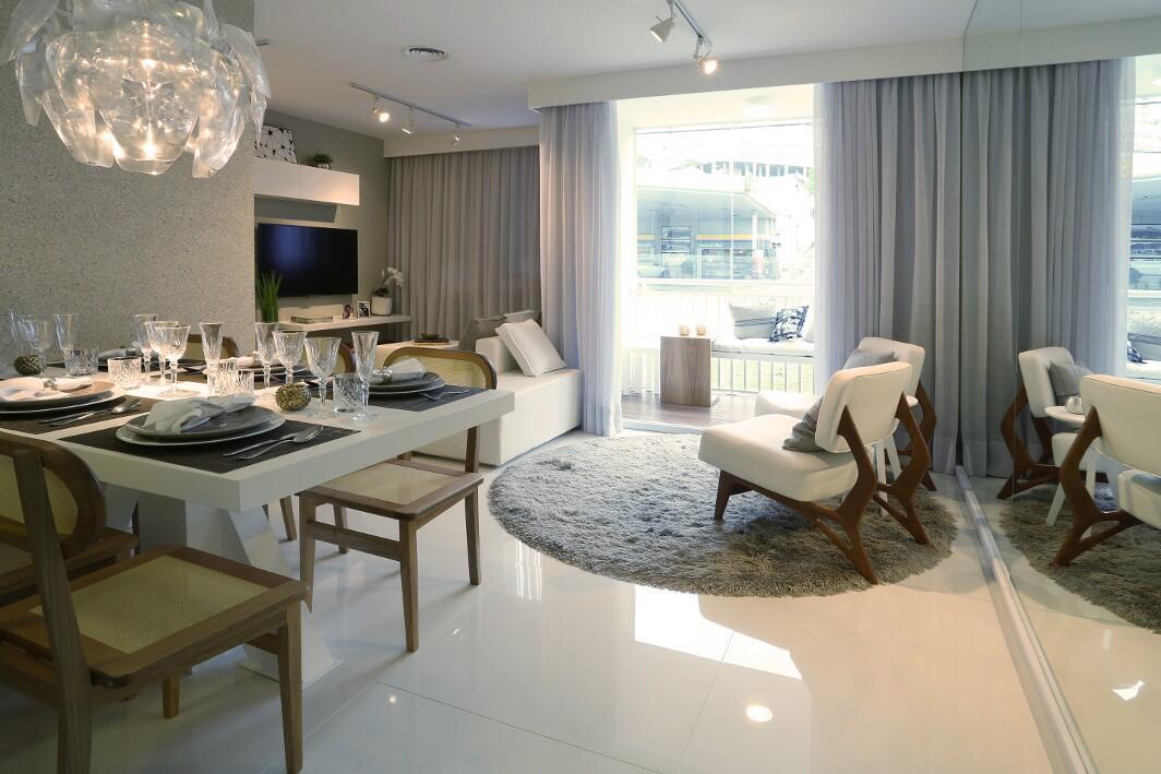 Apartamento novo 3 dormitórios c/ suite e Varanda - Utilize FGTS - pronto
