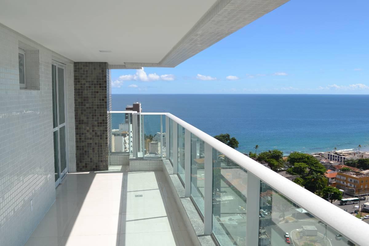 Apartamento de 3 suítes – venda - vista mar – Morro Ipiranga
