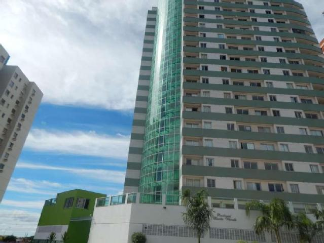 Águas Claras Edifício Costa Verde 01 quarto c/varanda e ao lado metrô.