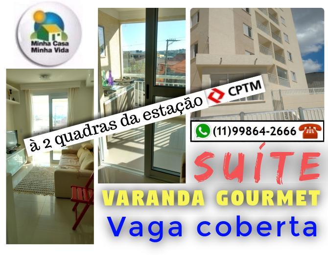 Super Oportunidade em Quitaúna! Suíte, Varanda, bem localizado!