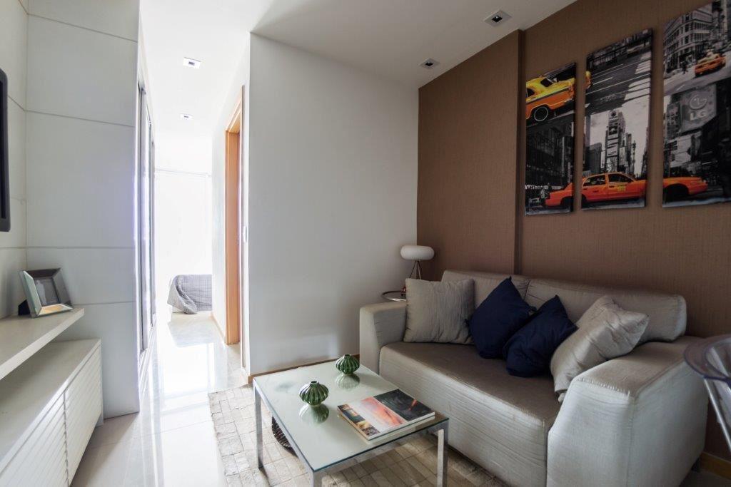 Due Murano - Apartamento de 1 Quarto com 30m² + elevador + lazer completo