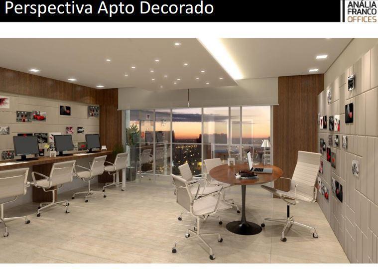 Anália Franco Offices Salas comerciais 35m² - Zona Leste