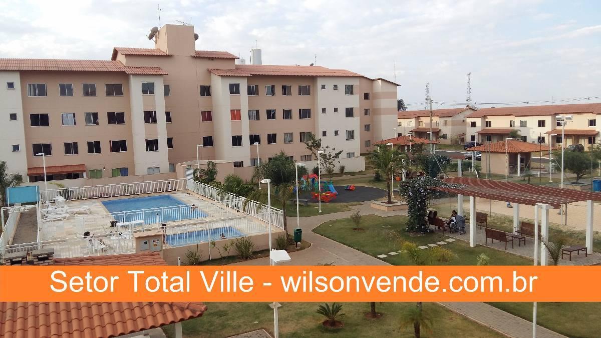 TOTAL VILLE QD. 103   SOBRADO (97,99M²)   3 QTS 2 VAGAS   ARMÁRIOS