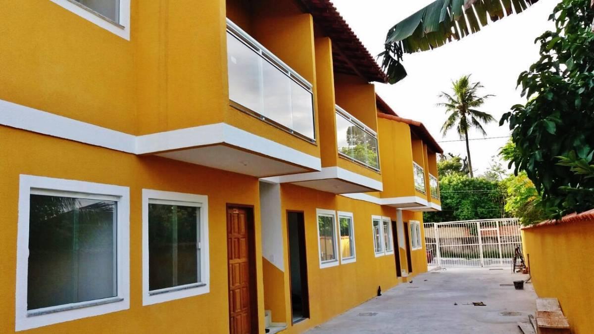 LARANJAL-SÃO GONÇALO-A partir de 125mil Lindas Casas 2QTOS FINANCIADAS CAIXA