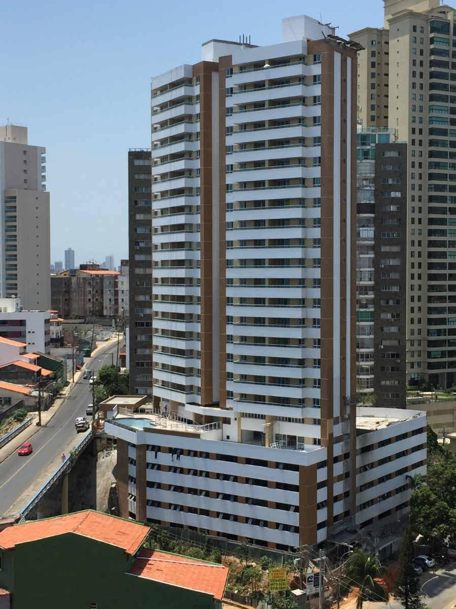 Apartamento 3/4 – 2 suítes 102m² Garibaldi Vista para o mar.