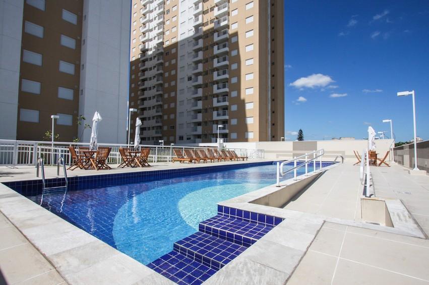 Apartamento 3 dormitórios 1 suite pronto para morar Aquarella Pari Brás Centro