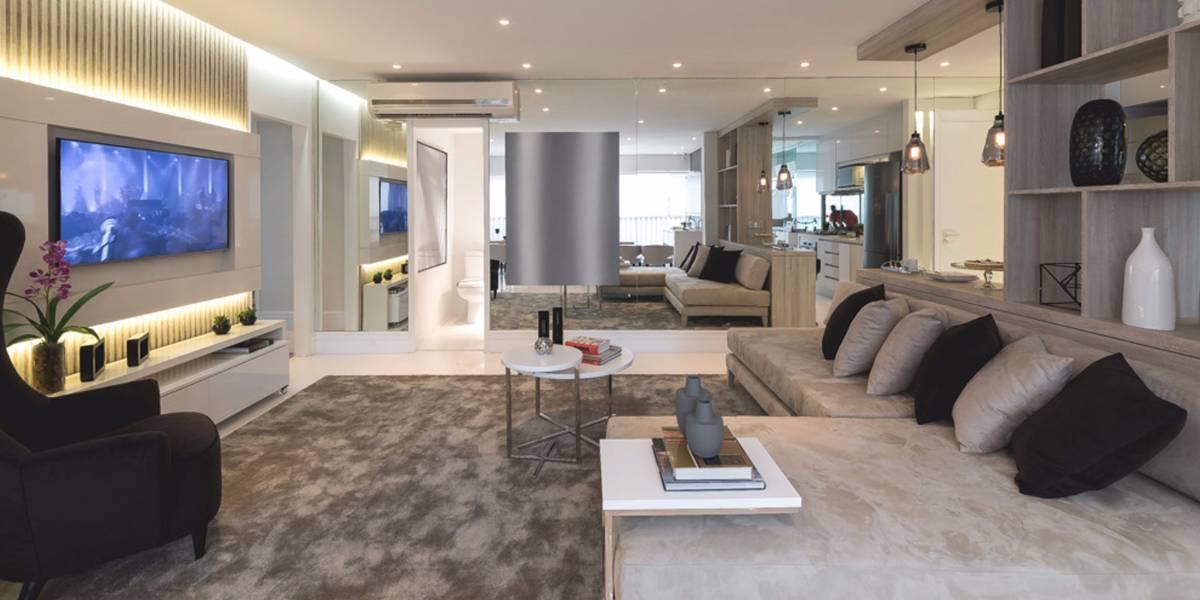Apartamento 96 m², 03 dorms, 01 ste, 02 vagas demarcadas e depósito em Pinheiros