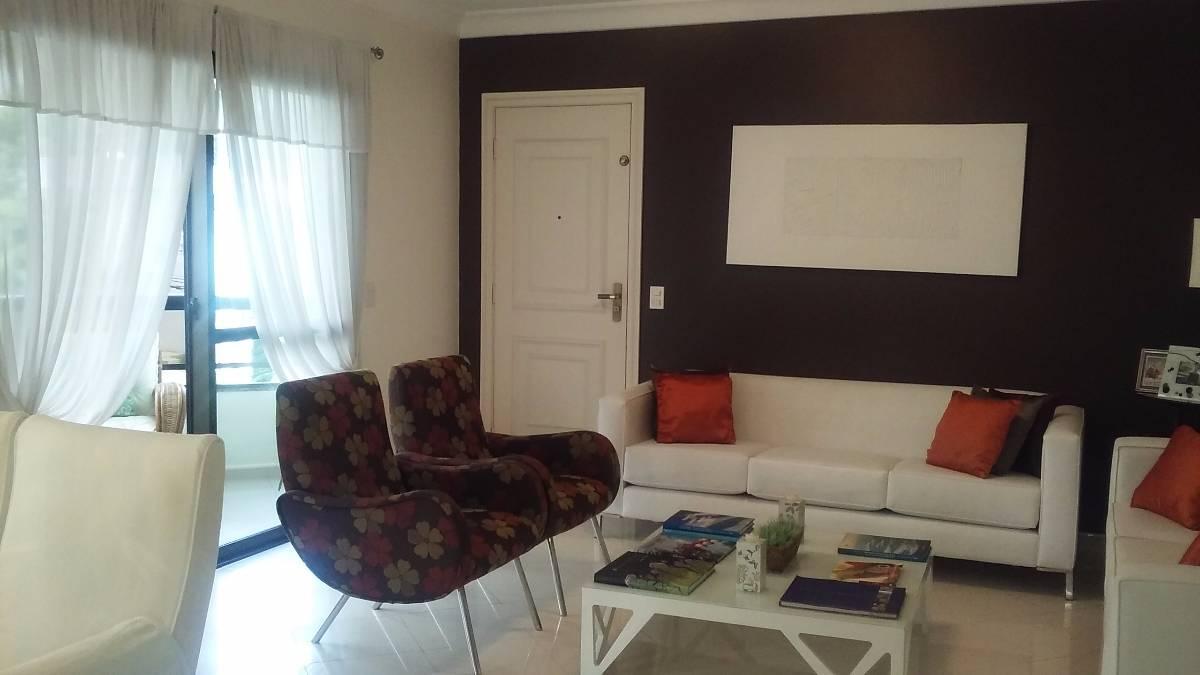 Próximo Portal do Morumbi Apartamento Mobiliado 3 Suites 163 Úteis 3 Vagas Lazer