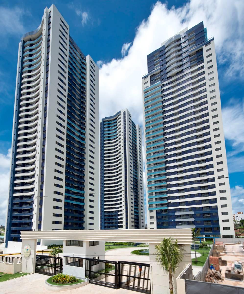 Apartamento em Villa laura, 2/4 com suite e varanda, novo, 1 vaga, 76 m²