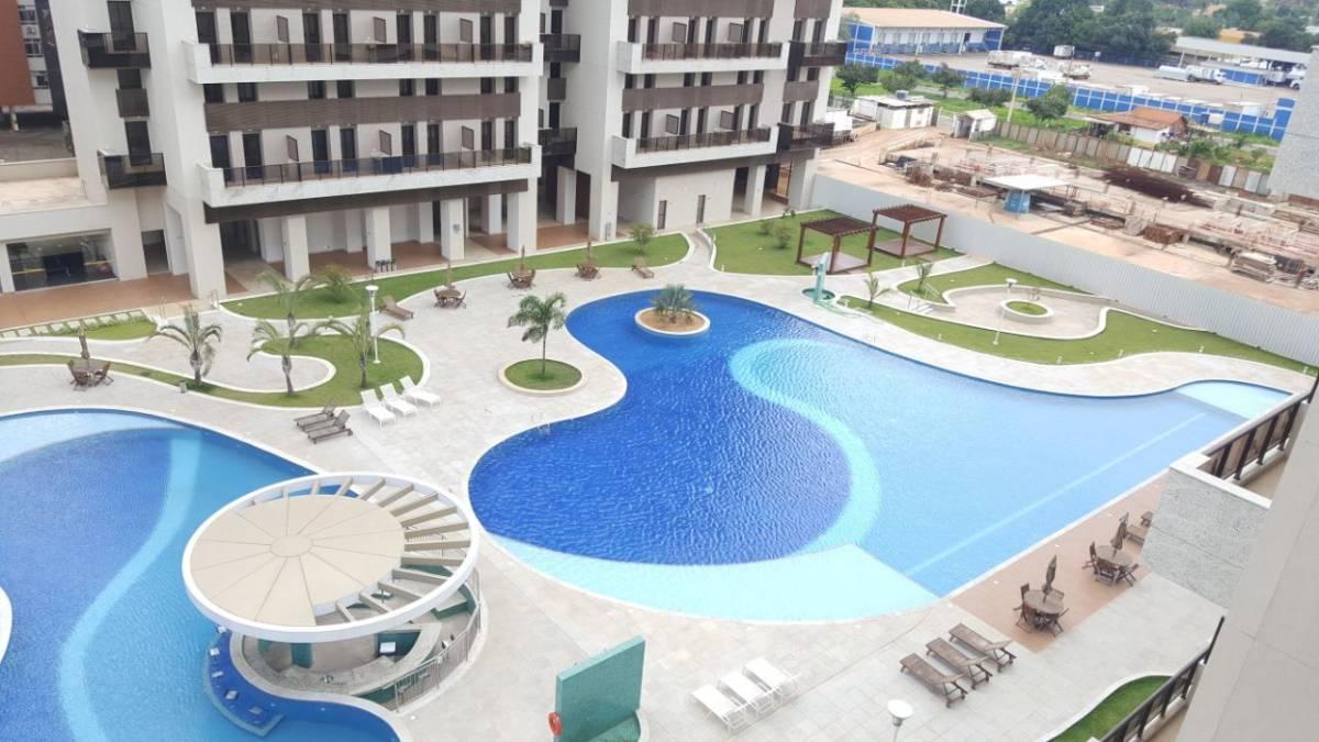 Apartamento de 1 Quarto no Park Sul - Aceita Fgts