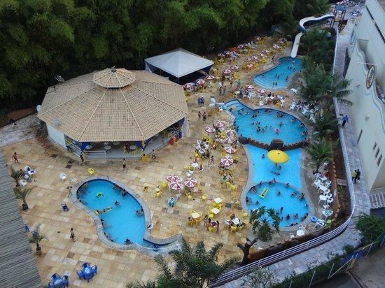 Flat Golden Dolphin Grand Hotel para temporada Caldas Novas
