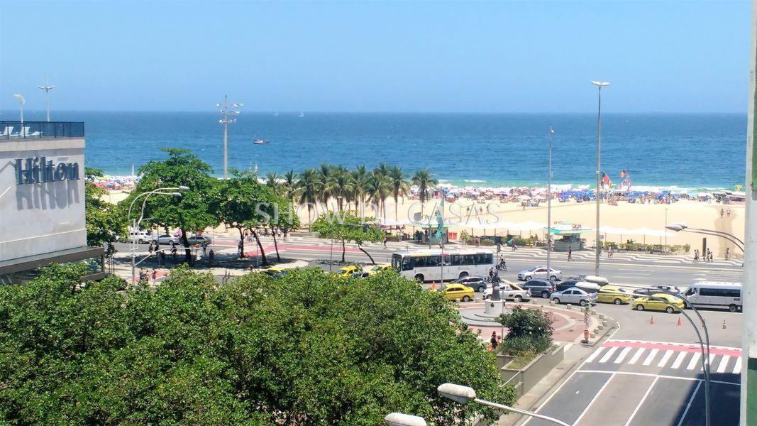Apartamento Copacabana Rio de Janeiro RJ com vista para o Mar