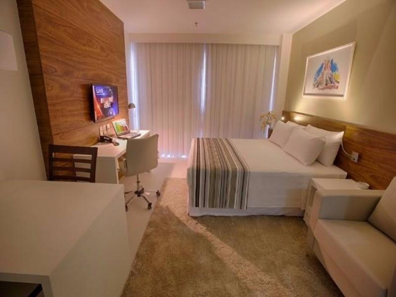 St. Hoteleiro Norte (Fusion e Vision) - Apartamento e Salas com e sem Mobília