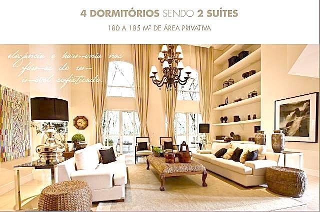 ECOVILLE PROX. MERCADOTECA - 342 m2 A.TOTAL 4 dorm/2suítes/3vagas -LIGUE