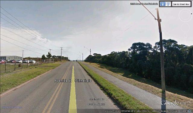 Terreno na Avenida dos Pinheirais em Araucária com 7.440m²