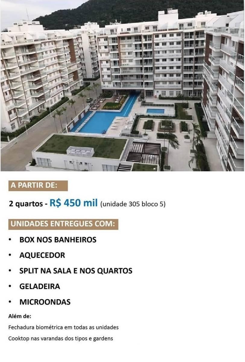 Recreio - Frames Residence - 2 quartos - R$450.000,00