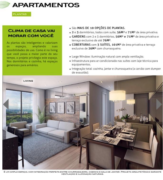 Copia de More o Lado Parque Barigui-Condomínio Club- 56 a 71m2 - 2 / 3 Dorm.