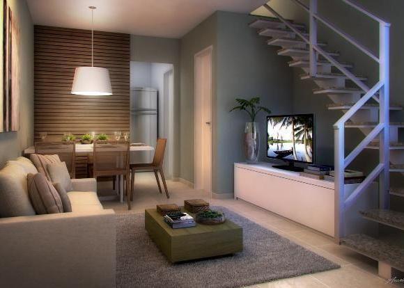Fiori Residências - casas com 2 quartos em condomínio com lazer e segurança