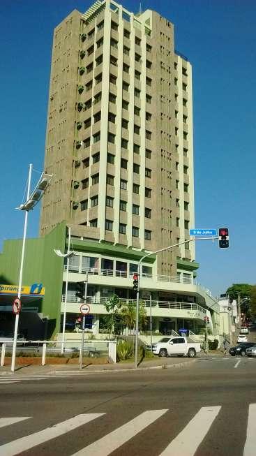 Sala comercial próximo à av. 9 de julho em Jundiaí - 92 m2 - Uma vaga