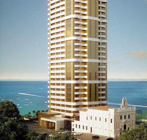 Apartamento Corredor da Vitoria, 5 Suites, com pier,vista mar, mansão Wildberger