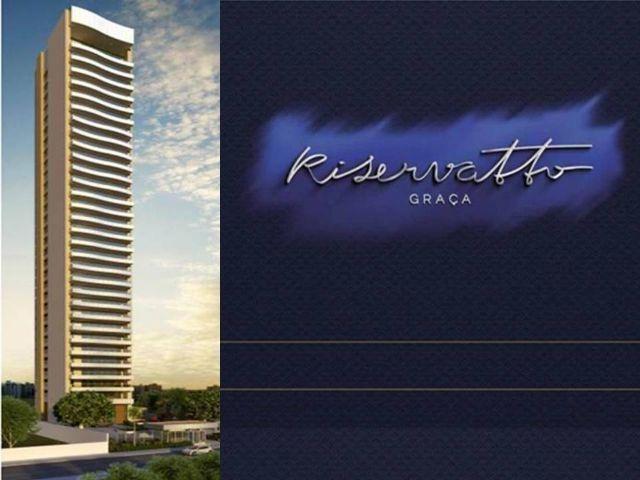 Apartamento na Graça, Novo, bem localizado, 4 Suites, com 261m, Riservatto Graça