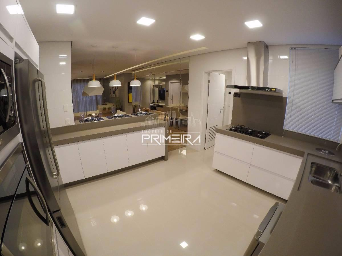 Brickell Key (Alto Padrão) - Amplo apartamento 134m² com 2 vagas