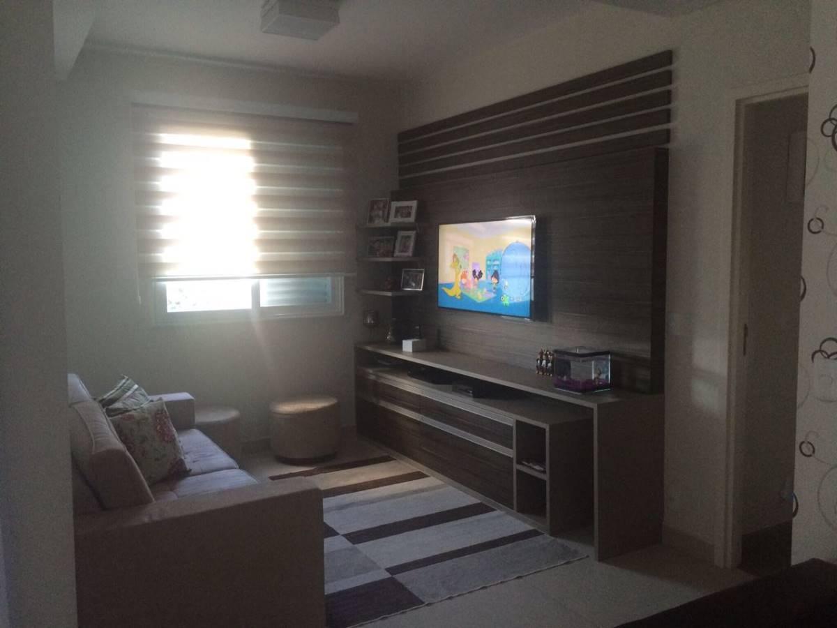 Terraços da Serra - Andar alto - 104 m2 -  3 dormitórios e suite -Completo
