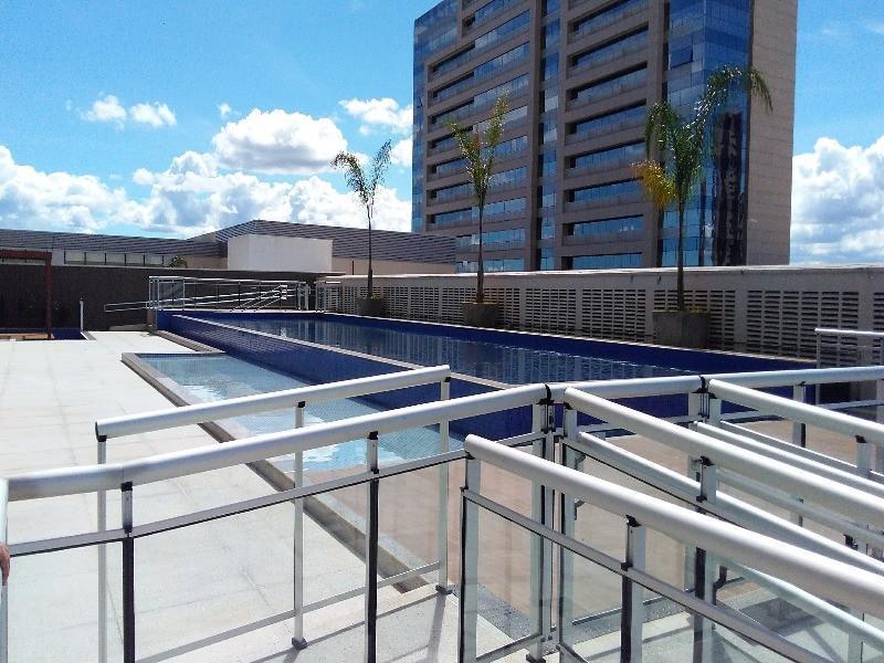 DF Century Plaza - Apês de 1 e 2 quartos em Águas Claras - Só 174 mil