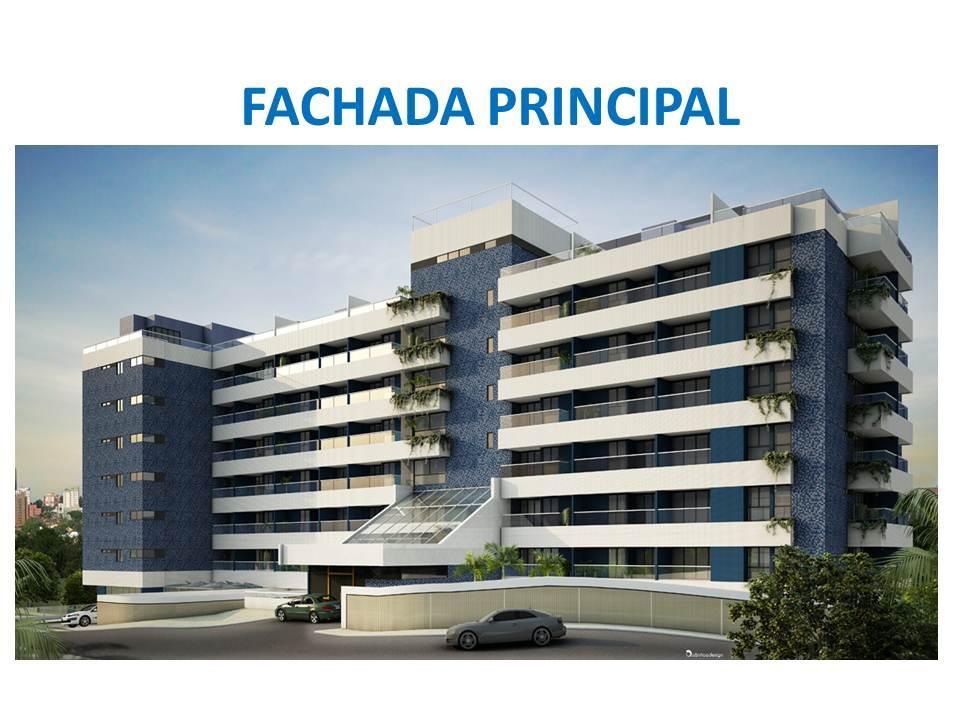 Ondina Choice, 2/4 com 71m² e serviço de Mall do Hotel Vila Galé!!