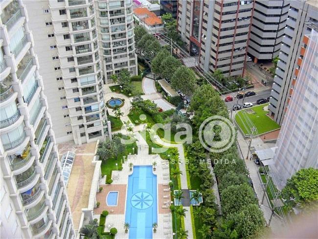 Apartamento MOBILIADO para aluguel Brooklin, São Paulo – SP