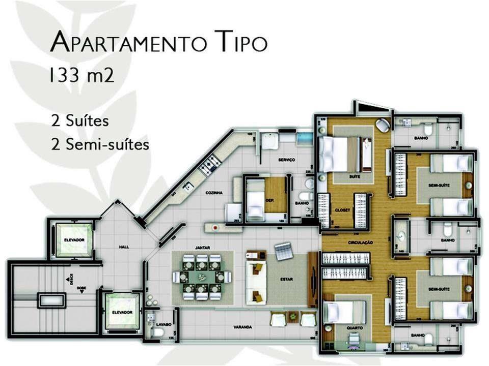 Apartamento à venda - em Santo Agostinho