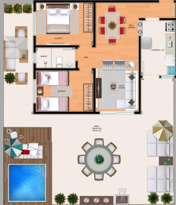Apartamento à venda - em Teixeira Dias (Barreiro)