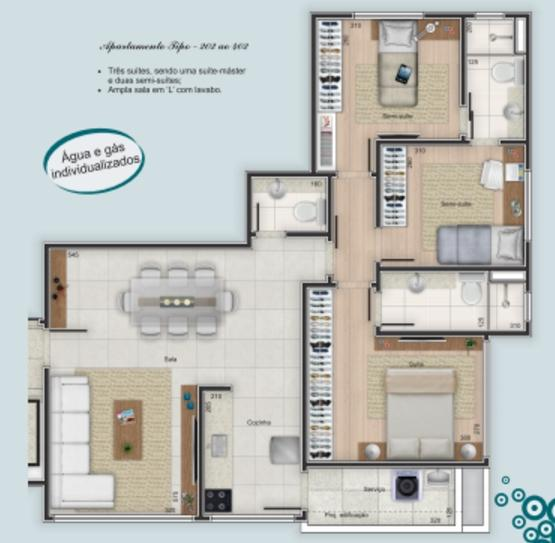 Apartamento à venda - em Dona Clara