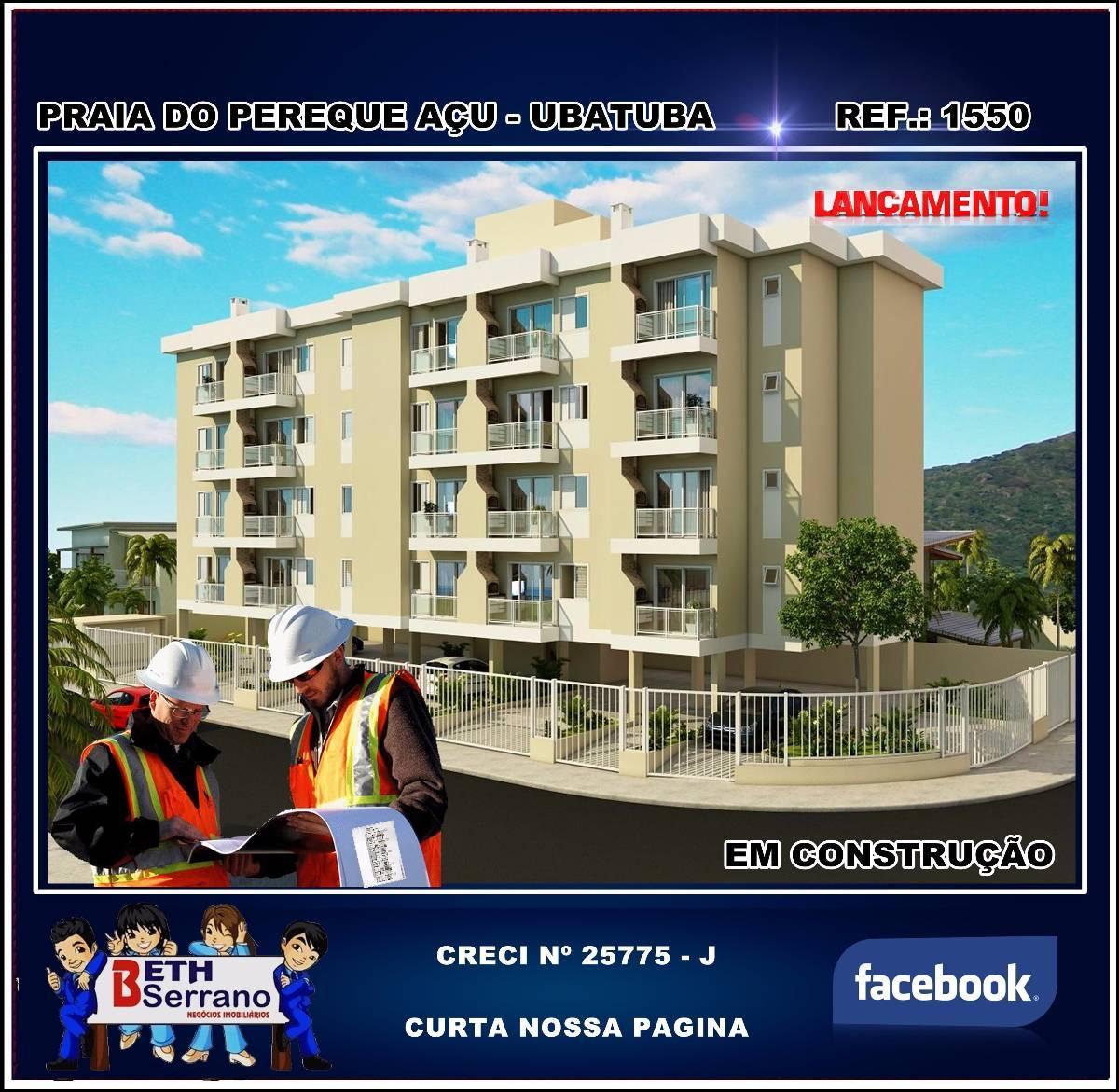 Apartamento em Ubatuba ( Praia do Pereque Açu ) Financiado pela Caixa