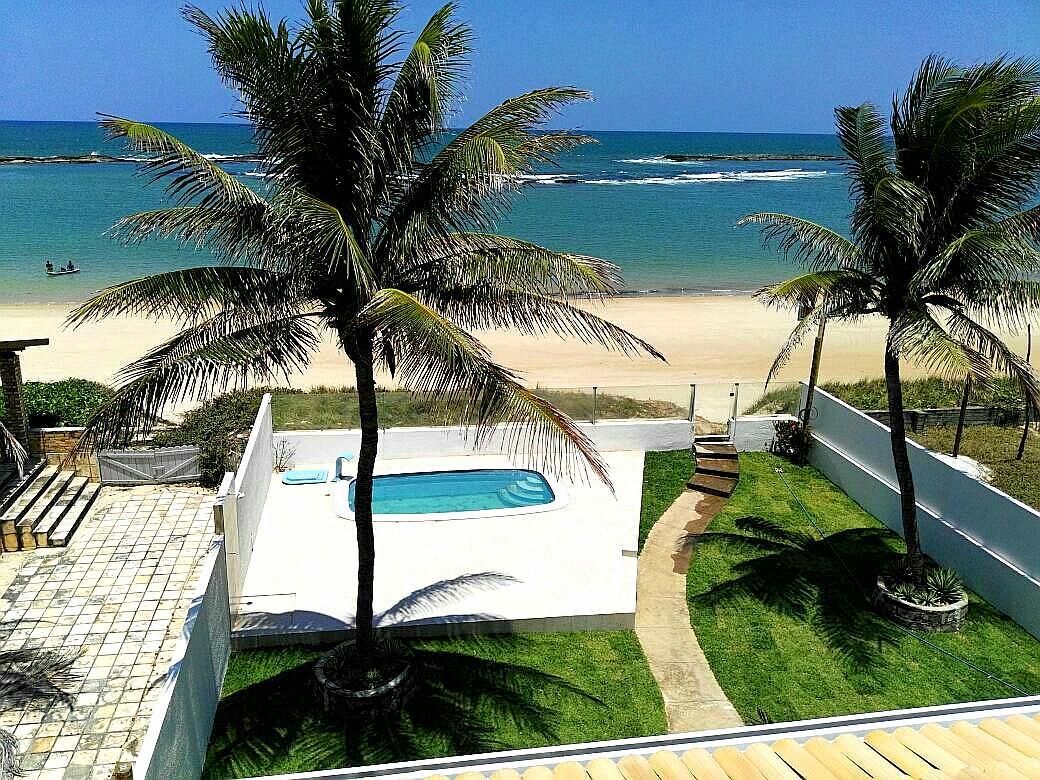 Cobertura Beira-mar na Praia de Tabatinga
