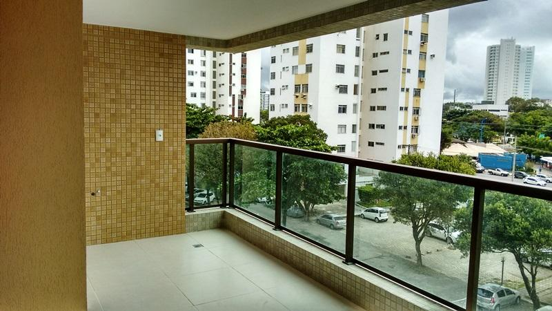 Apartamento no Imbui, 3/4, 90m²,  2 Vagas. Novo. O Top do bairro.